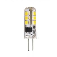 Лампа LED светодиодная 1,5W 12V G4 3000K (для точечных светильников) Теплый свет
