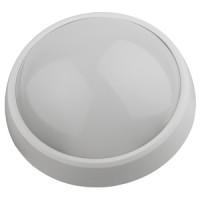 Светодиодный светильник IP54 12Вт 4000К 960лм круг 220х98 БЕЛ (24/96)
