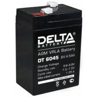 DT6045 Аккум DELTA 6V 4,5Ah для прожекторов, карт (20/600)