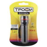 TM3W Фонарь Трофи 1x3W LED, колим.линза, алюм, 3хААА, карт (24/144/2592)
