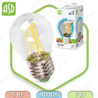 Светодиодная лампа LED Filament COB Е27 5 Вт 4000К 450Лм