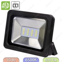 Прожектор светодиодный СДО-5-10 10Вт 160-260В 6500К 800Лм IP65 ASD / LLT