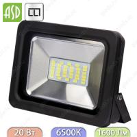 Прожектор светодиодный СДО-5-20 20Вт 160-260В 6500К 1600Лм IP65 ASD / LLT