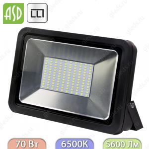 Прожектор светодиодный СДО-5-70 70Вт 160-260В 6500К 5600Лм IP65 ASD / LLT
