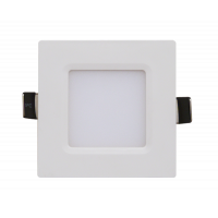 Панель светодиодная квадратная SLP-eco 3Вт 230В 4000К 210Лм 86х86х23мм белая IP40
