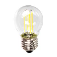 Лампа светодиодная LED-ШАР-deco 5Вт 230В Е27 4000К 450Лм прозрачная IN HOME