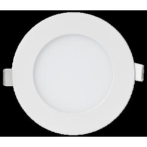 Панель светодиодная круглая RLP-eco 6Вт 230В  4000К 420Лм 120/100мм белая IP40