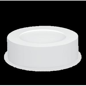 Панель светодиодная круглая NRLP-eco 8Вт 230В 4000К 560Лм 120мм белая накладная IP40 IN HOME