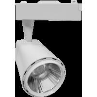 Светильник светодиодный трековый TR-03 10Вт 160-260В 4000К 900Лм 76x95x145мм белый IP40 LLT