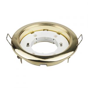 Светильник встраиваемый GX53R-mini ультратонкий под лампу GX53 золото