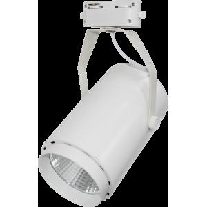 Светильник светодиодный трековый TR-02 10Вт 230В 4000К 900Лм 72x121x155мм белый IP40 LLT