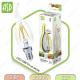Светодиодная лампа LED Filament COB свеча на ветру E27 5 Вт 3000К 450Лм