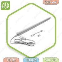 Светильник светодиодный линейный TL СПБ-Т5 10Вт 900лм IP20 900мм ASD