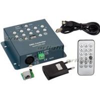 Контроллер DMX-Q02 (USB, 512 каналов, ПДУ 18кн)