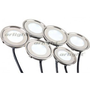 Набор KT-R-6x0.5W LED White 12V (круг)