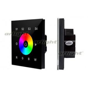 Панель Sens SR-2820B-AC-RF-IN Black (220V,RGBW,1 зона)