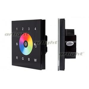 Панель Sens SR-2812-IN Black (12-24V,RGBW,DMX,4зоны)