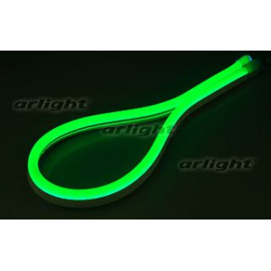Гибкий неон ARL-CF2835-Classic-220V Green (26x15mm)