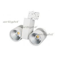 Светодиодный светильник LGD-2271WH-2x30W-4TR Warm White 24deg