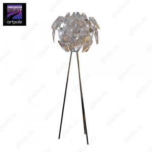 Светильник дизайнерский напольный Blume F (Прозрачный)
