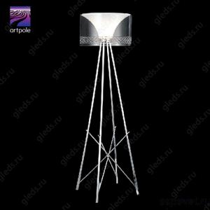 Светильник дизайнерский напольный Haltbar F GR (Серый)