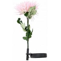 """Светильник садово-парковый на солнечной батарее """"Астра"""" розовый, 1  LED белый, 75см , PL303"""