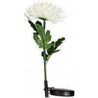 """Светильник садово-парковый на солнечной батарее """"Астра"""" белый, 1 LED белый, 75см , PL303"""