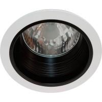 Светильник потолочный с алюминиевым отражателем, MHB G12 белый, без пускателя, AL109