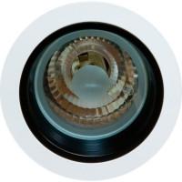 Светильник потолочный с алюминиевым отражателем, MHB G12 белый, без пускателя, AL111