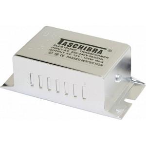 Трансформатор электронный понижающий (TASCHIBRA), 230V/12V 200W, TRA25
