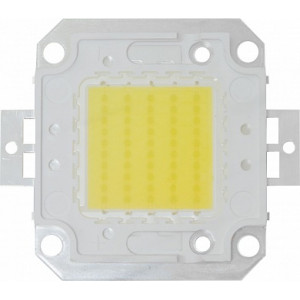 Светодиод одноматричный COB 30W 3000Lm 6000K угол обзора 120' (размер кристалла 35*0,024), LB-1130