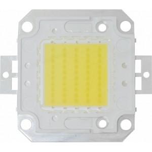 Светодиод одноматричный COB 50W 5000Lm 6000K угол обзора 120' (размер кристалла 35*0,024), LB-1150