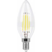 Лампа светодиодная Feron LB-66 Свеча E14 7W 4000K