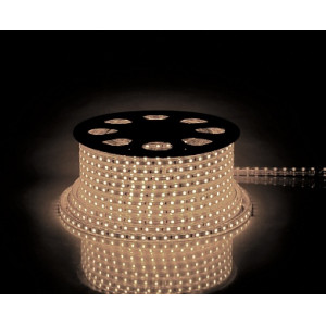 Cветодиодная LED лента Feron LS707, 60SMD(5050)/м 14.4Вт/м  50м IP68 220V теплый белый