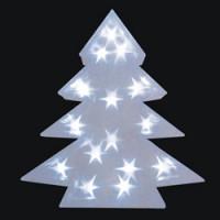 Световая фигура  3V 15 LED  белый,  0.9W, 20mA,   батарейки 2*АА, IP 20, шнур 0,24м х0,09мм, LT028
