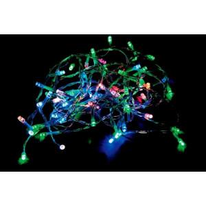Светодиодная гирлянда Feron CL06 линейная 230V разноцветная c питанием от сети