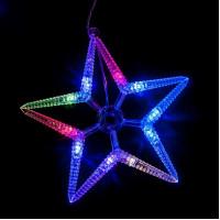 Светодиодная гирлянда Feron CL57 фигурная 220V разноцветная c питанием от сети