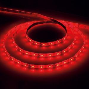 Cветодиодная LED лента Feron LS603, 60SMD(2835)/м 4.8Вт/м  5м IP20 12V красный