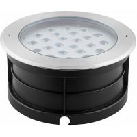 Светодиодный светильник тротуарный (грунтовый) Feron SP4316 Lux 24W RGB 230V IP67