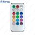 Свеча светодиодная Высокий цилиндр FL080 1LED мультиколор, 80mm*150mm