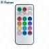 Свеча светодиодная Короткий цилиндр FL084 1шт*1LED RGB, с П/У, 10*10 см