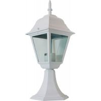 Светильник садово-парковый 4104 60W 230V E27 150*150*410мм белый