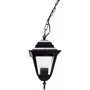 Светильник садово-парковый 4105 60W 230V E27 150*150*350мм черный