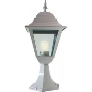 Светильник садово-парковый 4204 100W 230V E27 185*185*440мм белый