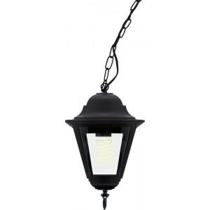 Светильник садово-парковый 4205 100W 230V E27 185*185*370мм черный