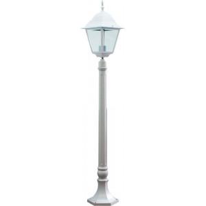 Светильник садово-парковый 4210 100W 230V E27 185*185*1200мм белый