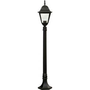 Светильник садово-парковый 4210 100W 230V E27 185*185*1200мм черный