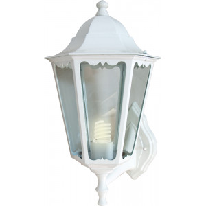 Светильник садово-парковый 6101 60W 230V E27 150*170*350мм белый