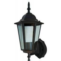 Светильник садово-парковый 6101 60W 230V E27 150*200*320мм черный