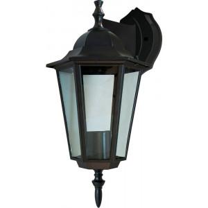 Светильник садово-парковый 6102 60W 230V E27 150*200*320мм черный